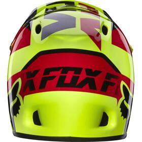 Fox Rampage Kask Fullface żółty